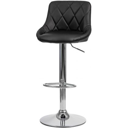 Krzesło hoker Pital czarne