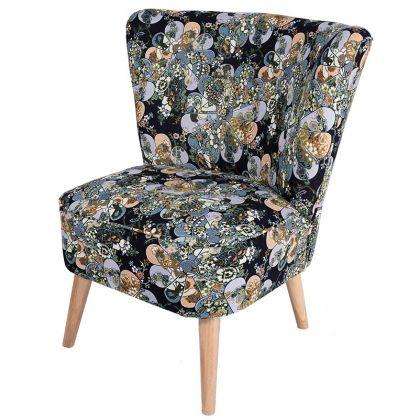 Ikarus fotel w kwiaty -...