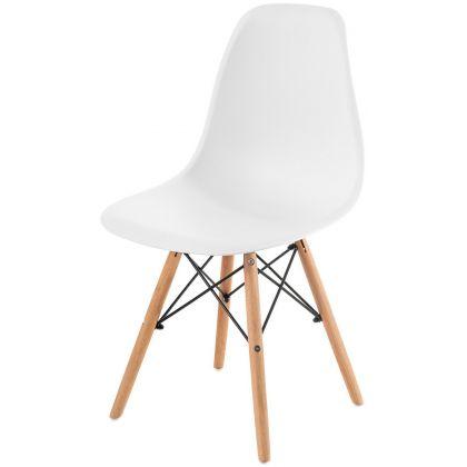 Krzesło Alvernia białe