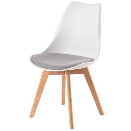 Krzesło Blanc białe z...