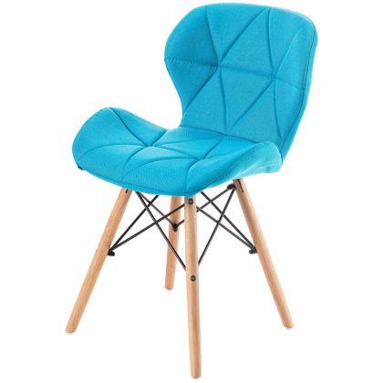 Krzesło RIMO turkusowe