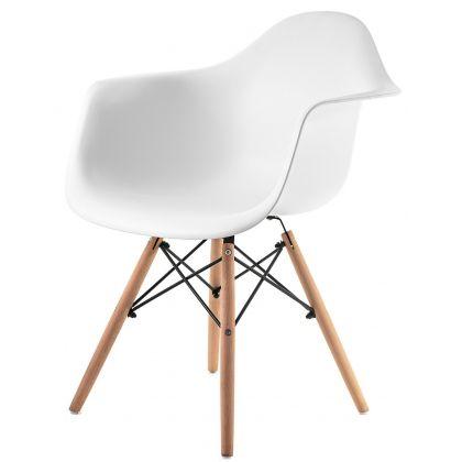 Fotel Parbat biały