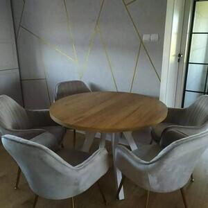 Tym razem krzesła FOHO w jadalni 😍👌 . . #lukso #meblelukso #luksopl #zestawywypoczynkowe #zestawdosalonu #inpiracje #retro #glamour #salon #livingroom #interiorgoals #interior #interiordesign #interior4homes #instainterior #interior123 #interiorlovers #interioridea #moderninterior #domoweinspiracje